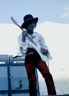 Jimi Hendrix (Miami Pop Festival) By Ken Davidoff