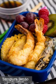 Vegetable & Shrimp Tempura Bento | Easy Japanese Recipes at JustOneCookbook.com