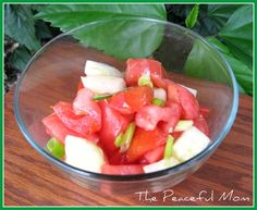 Fresh Cucumber and Tomato Salad--The Peaceful Mom #wholefoodsrecipe