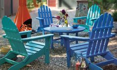 Beautiful outdoor furniture, perfect for your porch or patio.  Many other chair styles available. :)