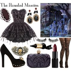"""Disney Parks: The Haunted Mansion"" by cristianoronaldostar on Polyvore"