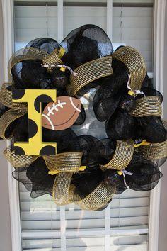Iowa Hawkeyes Wreath-For my Hawk friends