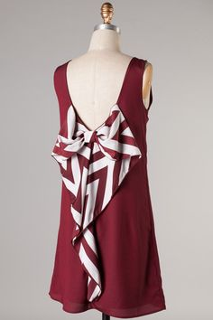 Alabama Game Day Bow Back Dress · Sweet N Sassy Us · Online Store Powered by Storenvy