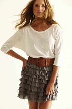 Love the skirt,
