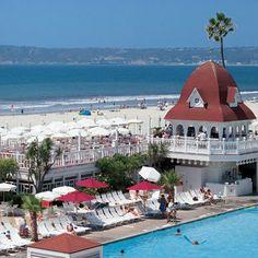Swimming pool at Hotel del Coronado