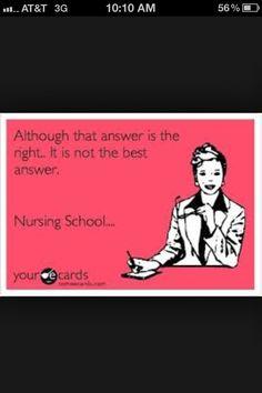 Ohhhh memories of nursing school!!!