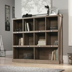 rustic barrister lane bookcase