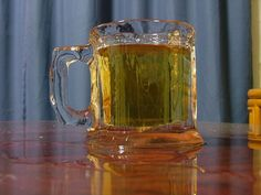 """Tired of your beer getting warm before you can drink it all?  Why not enjoy some """"Damn Good Beer"""" out of an ice mug!  Problem solved.  :) #MinhasCraftBrew"""