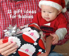 The Dizzy Mom: 11 gift ideas for babies