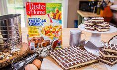 "Home & Family - Recipes - Cristina Cooks: ""Taste of Home"" Magazine's Chocolaty Nanaimo Bars   Hallmark Channel"