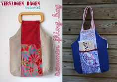 tote bag, bag tutorials