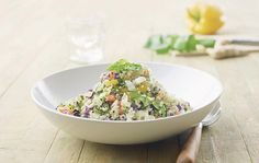 An Easy Quinoa Salad