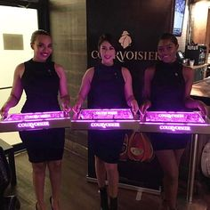 Courvoisier Models @ the #DefJam #Undisputed Docuseries Viewing & Listening Session Held @ Drink Haus Chicago