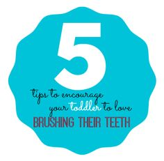 5 Tips to Encourage Your Toddler to Love Brushing Their Teeth!