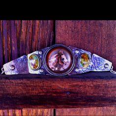 Vintage Horse Bridle Rosetta Bracelet