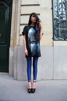 Givenchy tee via Chic Muse.