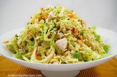 Cabbage Chicken with Ramen Noodles Salad Recipe