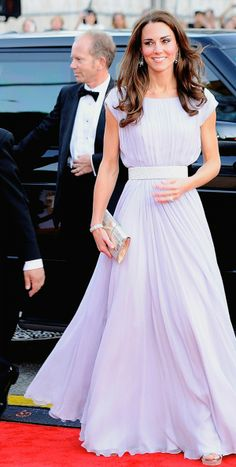 Kate Middleton on her USA tour with Prince William