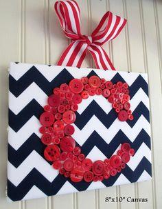 Instead of a wreath, hang this on your door?