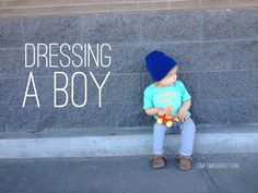 Sometimes Sweet: Dressing a Boy for my close friend and her son :)