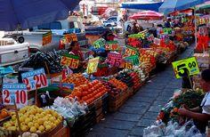 market, Xochimilco, México. Distrito Federal