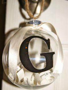 Anchors Aweigh : DIY Invitation Ornament