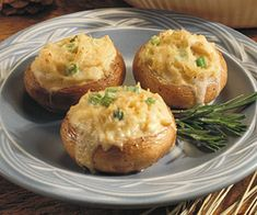 Mushroom Crab Puffs
