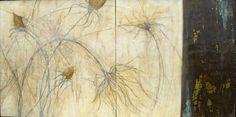 euphoria ~ encaustic on wood ~ by alicia tormey