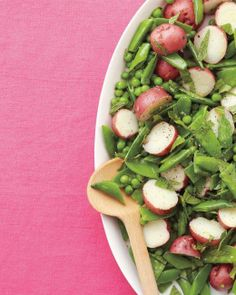 Easter Side Dishes // Peas and Potatoes with Mint Recipe