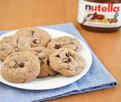Soft Nutella Cookies