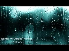 10 hour audio of gentle rain and thunder for test taking...Use instead of music, as music is distracting to many students!!!