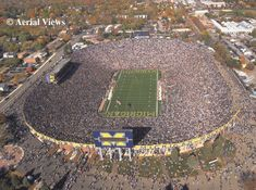 Michigan Stadium – Ann Arbor, Mich.  Nothing quite like it