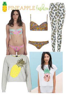 summer trend 2014: pineapple   pineapple fashion    #pineapple #trend #summer