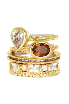 Calypso Stack Ring Set