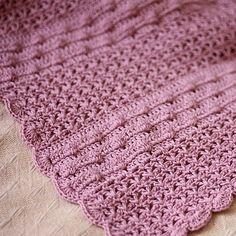 Crochet PATTERN (pdf file) - Bobble Baby Blanket