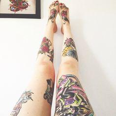 tattoos Legs inked tattoo ink tattooed legs tattoo