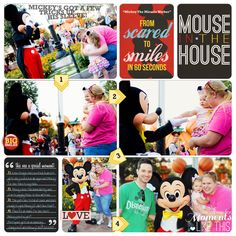"""Disney Digital Project Life page created by Brittney Leavitt, featuring """"Project Mouse: Bundle No. 3 - Character Moments"""" by Sahlin Studio & Britt-ish Designs"""