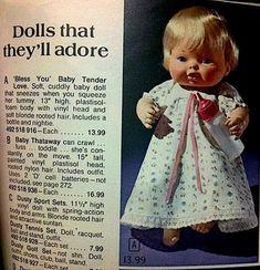 tender love doll, toy, 70s, babi doll, babi tender, baby dolls, favorit doll, childhood, baby bless you doll