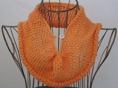 Balls to the Walls Knits: Gathered Mesh Cowl