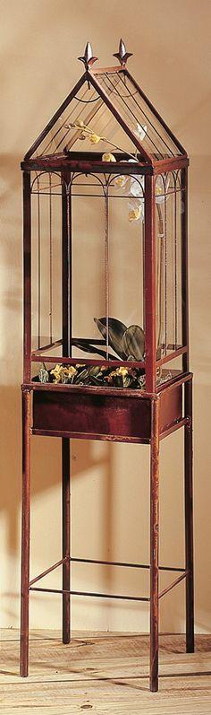 Freestanding Wardian Case Terrarium H Potter