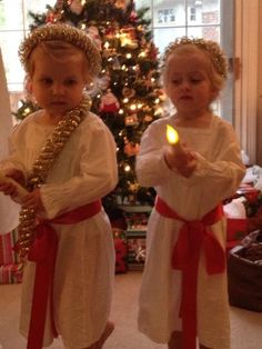 Our little St. Lucia's! :)