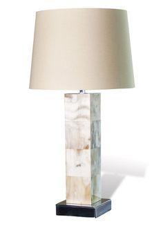 17cstr famili, table lamps, horns, famili room, zuma horn