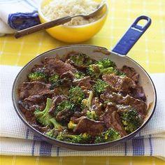 Easy weeknight dinner ideas: Orange Beef and Broccoli Stir-fry