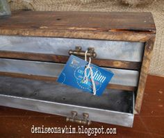 Upcycled Junk Turned Into a Stylish Industrial 3-Drawer Cabinet