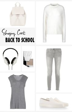 Shopping Cart Back to School