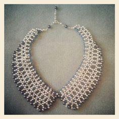 DIY Beaded Collar