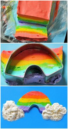 HOW TO: Make Rainbow Ice Cream #howto #rainbow #icecream