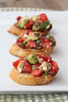 Strawberry, Avocado, & Feta Salsa Recipe