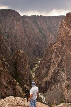 Black Canyon of the Gunnison National Park, CO | Wayne Boland via Flickr