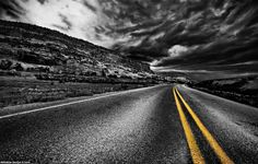 Dark Route 66 by Andrew Bayda